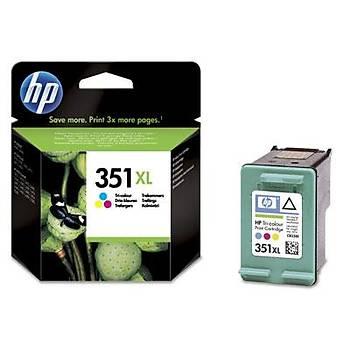 HP 351XL Color Renkli Yüksek Kapasite Kartuþ CB338EE