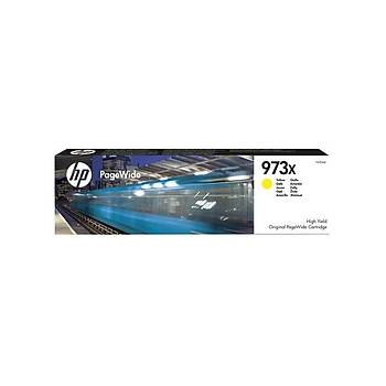 HP 973X Yellow Yüksek Kapasite Pagewide Kartuþ F6T83AE