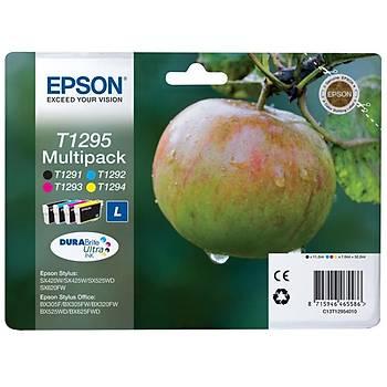 Epson BX305-320 SX425 Multipack 4'lü Mürekkep Kartuþ T12954022
