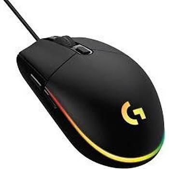 Logitech 910-005796 G203 Optik Kablolu Gaming Oyuncu Mouse Makrolu Siyah Optik