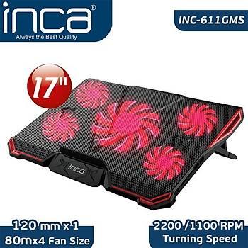 Inca Inc-611GMS Arrax Gamýng Soðutucu 5XFan 6 Kademeli