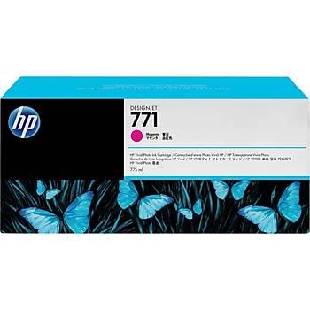 HP 771C Magenta Kýrmýzý 775ML Plotter Kartuþu B6Y09A