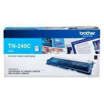 Brother TN-240C 1.400 Sayfa Cyan Mavi Toner HL-3040-3045-3070-3075 DCP-9010 MFC-9120-9125-9325-9320