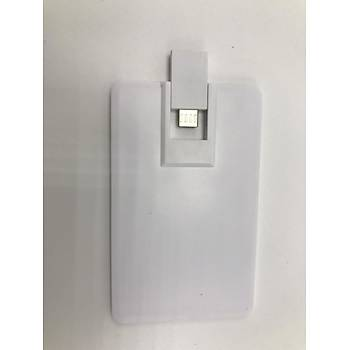 Oem 8GB Kartvizit Þekilli Dual 2.0 Micro USB Flash Bellek