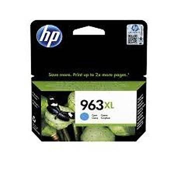 HP 963XL Yüksek Kapasite Cyan Mavi Kartuþ 3JA27A