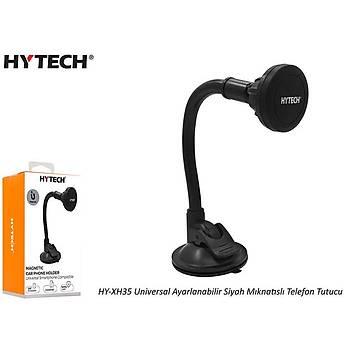 Hytech HY-XH35 Universal Ayarlanabilir Siyah Mýknatýslý telefon tutucu