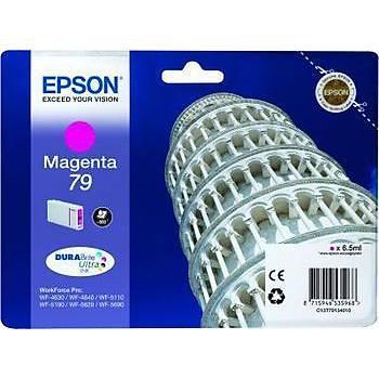 Epson WP5110-5190 Magenta Kýrmýzý Mürekkep Katuþ T79134010