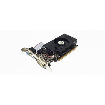 Quadro 2gb nVidia GT420-2GD3L DDR3 128bit HDMI DVI VGA Low Profile Ekran Kartý