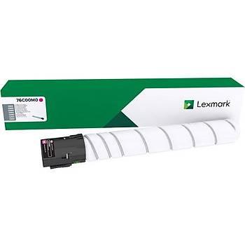 Lexmark 76C00M0 11.500 Magenta Kýrmýzý Toner CS921-923 CX920-921-922-923-924  C9235