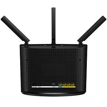 Tenda AC15 1900 Mbps Gigabit 4 Portlu Router 3 Anten