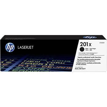 HP 201X Black Siyah Yüksek Kapasite 2.800 Sayfa Toner CF400X