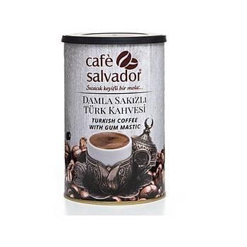 Cafe Slavador 250gr Damla sakýzlý Türk Kahvesi