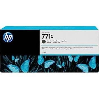 HP 771C Matte Black Mat Siyah 775ML Plotter Kartuþu B6Y07A