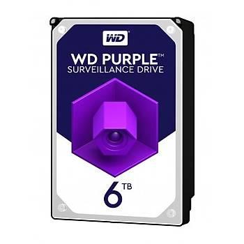 """Wd 6Tb Purple 3,5"""" 64Mb 5400Rpm Wd60Purz Harddisk"""