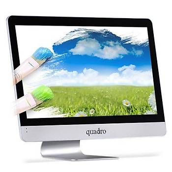 "Quadro Rapid-H8124-49824 Rapid H8124-49824 23.8"" Ci5 4690T 2.5Ghz 8Gb 240Gb All Ýn One Bilgisayar"