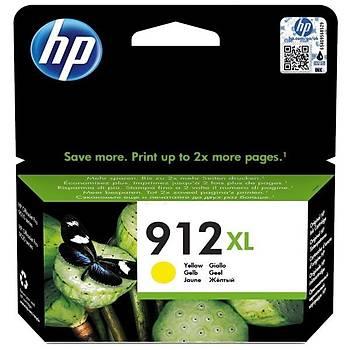 HP 912XL Yüksek Kapasite Yellow Sarý Kartuþ 3YL83A