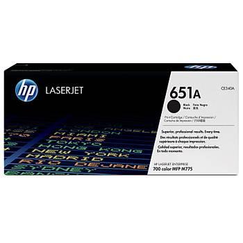 HP 651A Black Siyah  13.000 Sayfa Toner CE340A