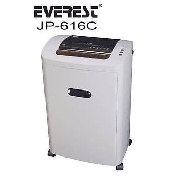 Everest JP-616C beyaz Kaðýt, Kredi kartý, cd-dVd Kesme ve Öðütücü 220mm 18 Litre
