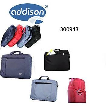 """Addison 300943 15.6"""" Kýrmýzý Bez Notebook Çantasý"""