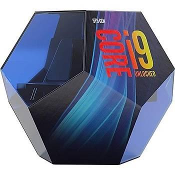 Intel Ý9 9900K Soket 1151 3.6Ghz 16Mb Cache Intel Ýþlemci Kutulu Fansýz Box