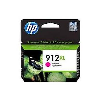 HP 912XL Yüksek Kapasite Magenta Kýrmýzý Kartuþ 3YL82A