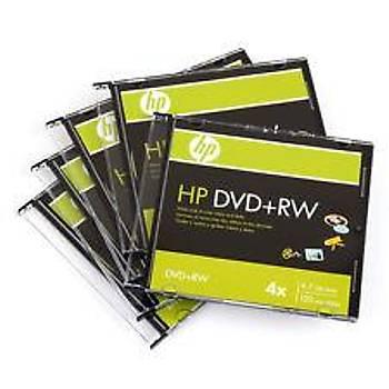 HP DVD+RW 4.7GB 120MIN 1-4X 10LU Rulo