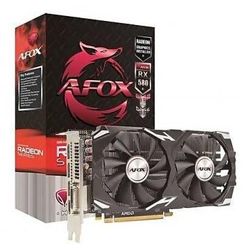 Afox RX580 Dual 2048SP Edýtion 8Gb Gddr5 256Bit Gaming Mining Ekran Kartý
