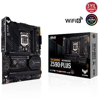 Asus Tuf Gaming Z590-Plus Intel 11.Nesil LGA1200 5133Mhz DDR4 M.2 Hdmi-Dp Atx Anakart
