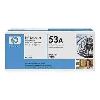 HP 53A Black Siyah 3.000 Sayfa Toner Q7553A