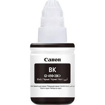 Canon GI-490BK Black Siyah Þiþe Mürekkep G1411-2411-3411-4411