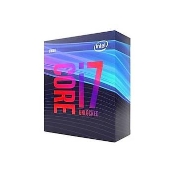 Intel Ý7 9700K 3.6Ghz Turbo 4.9Ghz 12Mb Cache Lga 1151 Intel Ýþlemci Kutulu Box (Fansýz)
