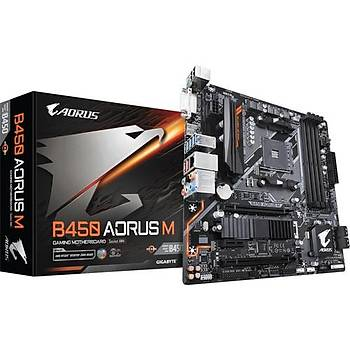 Gigabyte B450 AORUS M AMD B450 DDR4 mATX Anakart