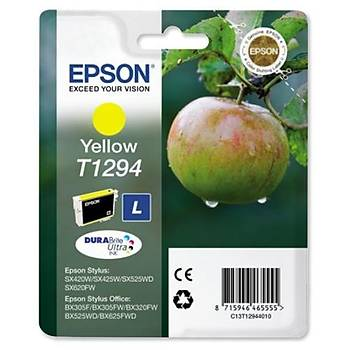 Epson BX305-320 SX425 Yellow Sarý Mürekkep Kartuþ T12944022