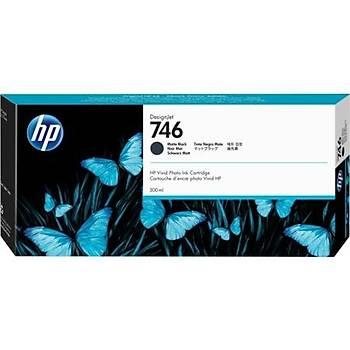 HP 746 Matte Black Mat Siyah 300 Ml Plotter Kartuþu P2V83A
