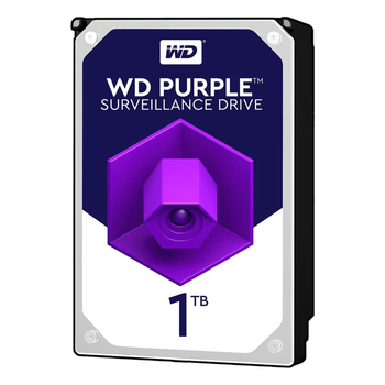 """Wd 1Tb Purple 3,5"""" 64Mb 5400Rpm Wd10Purz Harddisk"""