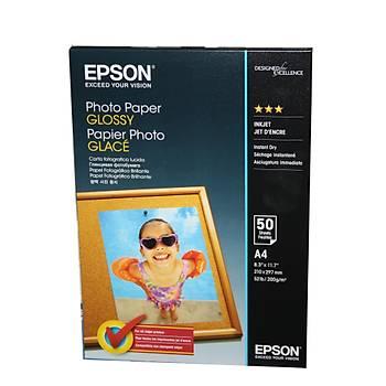 Epson A4 200Gram 50'li Fotoðraf Kaðýdý S042539