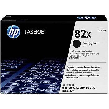 HP 82X Black Siyah Yüksek Kapasiteli 20.000 Sayfa Toner C4182X