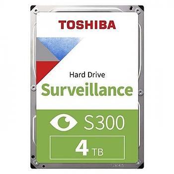 "Toshiba 4TB S300 Surveillance HDWT740UZSVA 128MB 5400 RPM 3.5"" SATA3 7-24 Güvenlik Diski Harddisk"