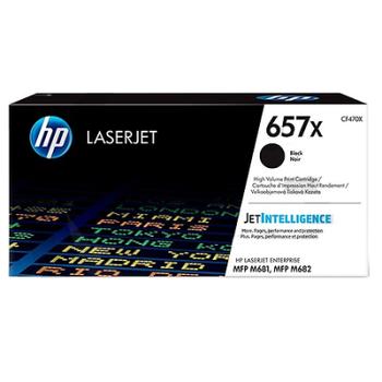 HP 657X Black Siyah Yüksek Kapasite 28.000 Sayfa Toner CF470X
