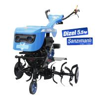 Bartech Dizel Ýpli Çapalama Makinesi 5.5 HP