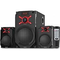 Mikado Md-1512 2+1 10W+5W*2 Siyah Usb+Sd+Fm Destekli Multimedia Bluetooth Speaker