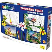 Adeland Boya & Eðlen, 12 Ve 24 Parça, Puzzle 1