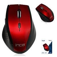 Inca IWM-500GLK 2.4GHz 1600Dpi Wireless Kýrmýzý Mouse
