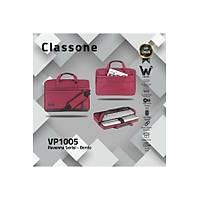 Classone Ravenna VP1005 14 inch Su Geçirmez Laptop El  Çantasý