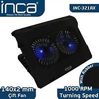 INCA  INC-321RX 7'-17'INCH  ÇÝFT FAN + STAND SESSÝZ SOÐUTUCU