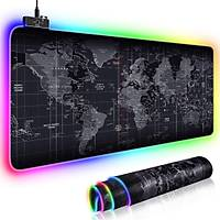 Bvlx RGB 78*30 Led Gaming Mouse Pad + Inca IMG-327 Makrolu Gaming Mouse