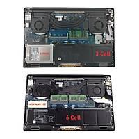 RETRO Dell Precision M5510, XPS 15-9550, RRCGW Notebook Bataryasý - 3 Cell