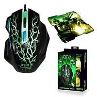 Inca IMG-365MS Kablolu Laser Oyuncu Mouse + Mouse Pad