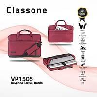 Classone Ravenna VP1505 15.6 inch Laptop El Çantasý-Bordo