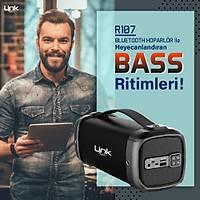 Linktech R107 Taþýnabilir Bluetooth Hoparlör